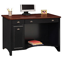 Antique Black with Hansen Cherry Computer Desk, BSH-WC53918