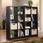 New York Skyline Bookcase Room Divider, BUS-KI10103