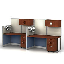 Two Straight Workstations Set, BUS-OIAH005HC