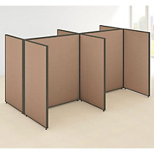 "66""H Wide Four Person Open Workstation Panel Set, 8805206"