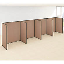 "66""H Wide Four Person Open Side by Side Workstation Panel Set, 8805209"