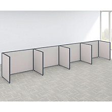 "42""H Wide Four Person Open Side by Side Workstation Panel Set, 8805216"