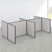 "42""H Wide Four Person Open Workstation Panel Set, 8805229"