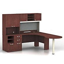 Quantum Right Hand Peninsula L-Desk, BUS-QUA005CSR