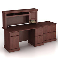 Desk Hutch and Lateral File, BUS-SYN002