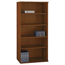 "Series C Wide Five Shelf Bookcase - 72""H, BUS-WC14"