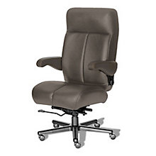 24/7 Big and Tall Chair with Leather Front and Vinyl Sides, 8810148