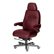 24/7 Big and Tall Chair with Headrest in Vinyl, 8810155