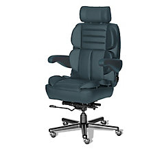 24/7 Big and Tall Chair in Italian Leather, 8810165