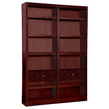 "Midas Twelve Shelf Double Bookcase with Drawers - 84""H, 8802179"