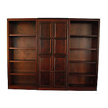 KT Series 15 Shelf Bookcase with Doors, 8803702