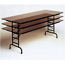"72"" x 30"" Adjustable Height Folding Table - 22""-32""H, COR-CFA3072M"