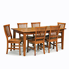 Cottage Oak Seven-Piece Dining Set, 8804100