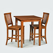 Cottage Oak Three-Piece Bistro Set, HOT-5180-359