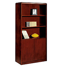 Summit Cope Bookcase with Doors, DMI-7009-09