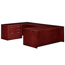 Summit Cope Personal File U-Desk with Left Return, DMI-7009-508FP