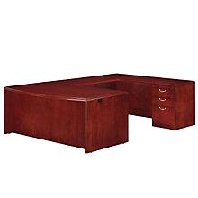 Summit Cope Reversible Bow Front U-Desk, DMI-7009-5758BFP