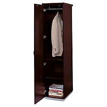 Mocha Left Single Wardrobe Cabinet, DMI-7020-01