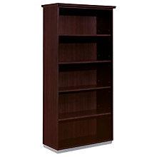 Mocha Open Bookcase, DMI-7020-108FP