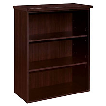 Mocha Three Shelf Open Bookcase, DMI-7020-148FP