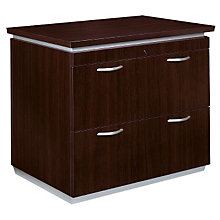 Mocha Two Drawer Lateral File, DMI-7020-16