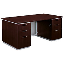"Mocha Executive Desk - 66"" x 30"", DMI-7020-30FP"