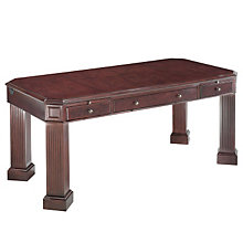 Oxmoor Merlot Cherry Table Desk, DMI-7376-88