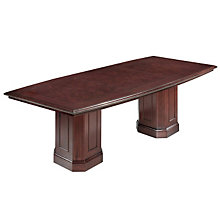Oxmoor Merlot Cherry Boat Top Conference Table, DMI-7376-96
