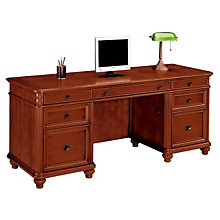 West Indies Cherry Kneehole Credenza, DMI-7480-21