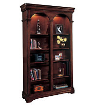 Chocolate Patina Side by Side Bookcase, DMI-7684-07