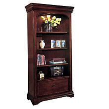 Chocolate Patina File Bookcase, DMI-7684-08