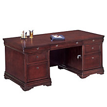Chocolate Patina Executive Desk, DMI-7684-34