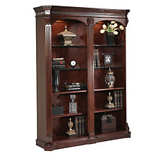 Balmoor Double Bookcase with Lighting, 8803037