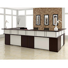 "Causeway Double Reception Desk - 144""W, 8802135"