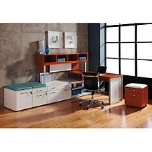 "Causeway L Desk with Storage - 72""W, 8802170"