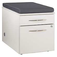 "Causeway Box File Pedestal with Cushion Top - 20""H, 8805170"