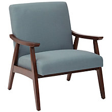 Davis Wide Arm Chair in Fabric, 8805200