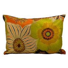 "kathy ireland by Nourison Floral Accent Pillow - 20""W x 14""H, 8803797"