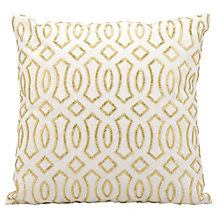 "kathy ireland by Nourison Beaded Trellis Accent Pillow - 18""W x 18""H, 8803798"