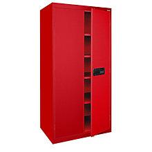 "Keyless Electronic Lock 78""H x 24""D Storage Cabinet, 8802321"