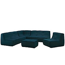 5 PC Upholstered Sectional Sof, 8805337