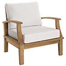 Outdoor Patio Teak Armchair, 8805423