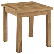 Outdoor Patio Teak Side Table, 8805433