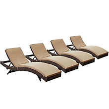 Chaise Outdoor Patio Set of 4, 8805439