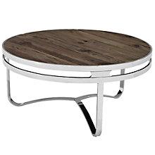 Wood Top Coffee Table, 8805468