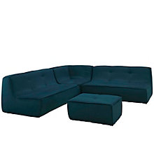 4 PC Upholstered Sectional Sof, 8805535