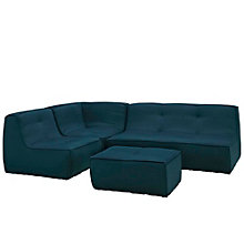 4 PC Upholstered Sectional Sof, 8805536