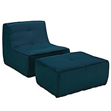 2 PC Upholstered Armchair and , 8805537