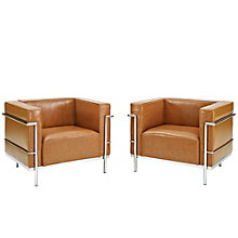 Grande Armchairs Leather Set O, 8805553