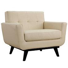 Bonded Leather Armchair, 8805558